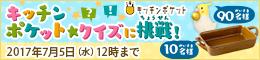 クイズキャンペーン開催中!