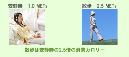 mets メッツ とは 運動の消費カロリー エクササイズ ダイエット