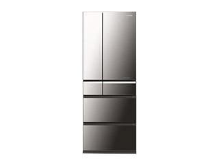 パナソニックトップユニット冷蔵庫(オニキスミラー) NR-F560XPV
