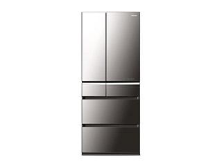 パナソニックトップユニット冷蔵庫(オニキスミラー) NR-F610XPV